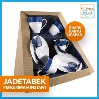 Parcel Bursa Dapur Jadetabek Classic Dark Blue Set A