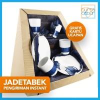 Parcel Bursa Dapur Jadetabek Classic Dark Blue Set B