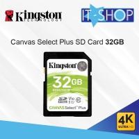 Kingston Canvas Select Plus SD Card - 32GB