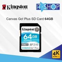 Kingston Canvas Go Plus 4K SD Card - 64GB