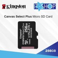 Kingston Canvas Select Plus microSD Card - 256GB