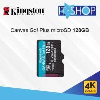 Kingston Canvas Go Plus 4K microSD Card - 128GB