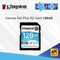 Kingston Canvas Go Plus 4K SD Card - 128GB