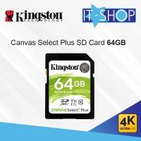 Kingston Canvas Select Plus SD Card - 64GB