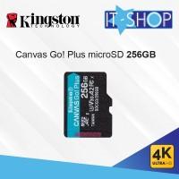 Kingston Canvas Go Plus 4K microSD Card - 256GB