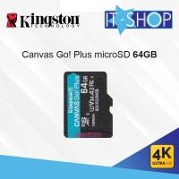 Kingston Canvas Go Plus 4K microSD Card - 64GB