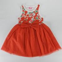 Dress Anak Kualitas Bagus Dan Halus Nyaman Terusan 1 -3 Thn bunga