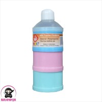 NINIO Milk Powder Container Tempat Susu 3 Susun