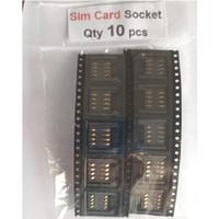 Qty 10 pcs Sim Card Socket