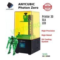 New Anycubic Photon Zero, Printer 3D SLA LCD Bahan UV Resin