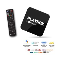 Playbox Android Smart TV Box StarterPack Paket Powered by MNC Play