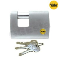 Gembok Padlock YALE Y124/70/115/1 High Security Silver Series ORI