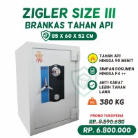 Brankas Tahan Api Zigler Safe Size III (Tinggi 85 cm)