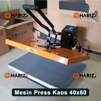 MESIN PRESS KAOS 40x60 Alat Heatpress Pemanas Sablon Baju Polyflex