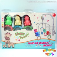 Mainan Bayi Music Gantungan BOX BAYI Playgym Murah Piano Musical