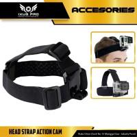 HEAD STRAP ACTION CAM / HEADSTRAP AKSESORIS GOPRO,SJCAM,BRICA,SPORT CA