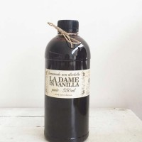 Vanilla Paste 550ML Non Alcohol Halal MUI - La Dame In Vanilla