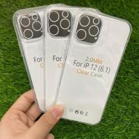 Jelly Case Bening Transparan 2.0MM iPhone 12 Pro 6,1 inchi