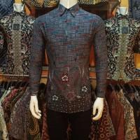 Kemeja Batik Pria Slimfit Lengan Panjang ORIGINAL