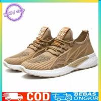 SAV Shoes Fashion Import Sepatu Sneakers Sport Pria, BnK301 - CREAM, 41