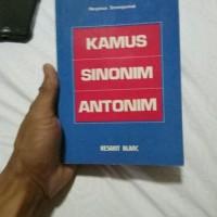 Kamus Sinonim Antonim