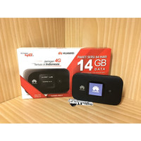 Mifi Router HUAWEI E5577 Speed 4G LTE JUMPER Bundling Telkomsel 14GB