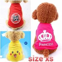 Baju hewan kucing kelinci anjing monyet musang baju lucu