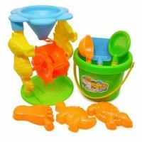 Mainan Pantai Ember Cetakan Pasir Pantai