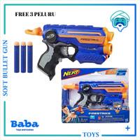NERF GUN N-STRIKE ELITE FIRESTRIKE LIGHT BEAM ORI NEW