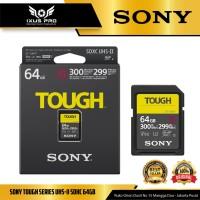 Sony Tough Series UHS-II SDHC (299MB/s) 64GB SF-G64T SD Card Memory