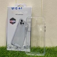 Hardcase Bening Clear Case Hybrid Acrylic iPhone 12 Pro 6,1 inchi