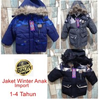 Jaket anak cowok import mantel baju hangat winter laki-laki 03