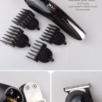 Paket Kemei Alat Cukur Elektrik 6 In 1 Hair Trimmer Shaver - Km-600