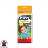 DRYPERS Drypantz Popok Celana Bayi 12 Jam XXL36 XXL 36