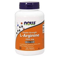 Now Foods L-Arginine 1000 mg Double Strength Arginine 120 tablets