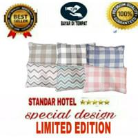 SARUNG BANTAL TIDUR STANDAR HOTEL 50x70 premium limited editoin