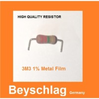 Qty 10 Pcs MF 3.3M 3M3 3.3 Meg 1W Beyschlag Resistor