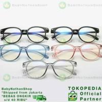 Kacamata Korea Pria Wanita (Unisex) Kacamata Anti-Radiasi Kekinian