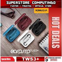 SonicGear TWS 3+ Gaming Wireless Bluetooth Earphone - Garansi Resmi