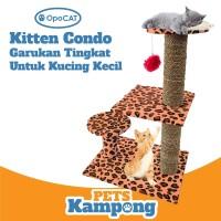 Garukan kucing kecil tingkat cat condo kitten