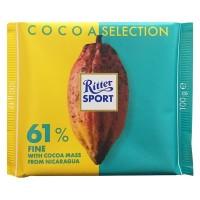 Ritter Sport Cocoa Selection 61% Fine 100 g