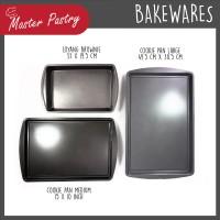 VALUE SET 3 PCS Brownie Pan / Cookie Pan Medium / Cookie Pan Large