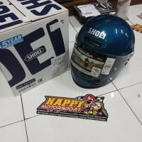Helm classic Shoei glamster laguna blue original DOT made in japan