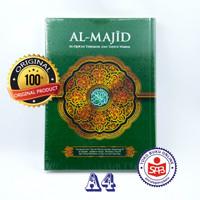 Al Quran Al Majid Terjemah dan Tajwid Warna Ukuran A4