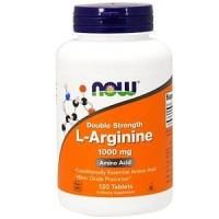 WIDIACAH NOW FOODS L-ARGININE 1000 mg 120 Tablets