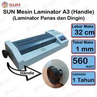 Mesin Laminating Laminator 32 Cm dengan Handle