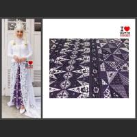sarung betawi motif 10 tumpal pucuk rebung bahan kain batik jakarta