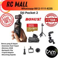 DJI Pocket 2 Osmo Pocket 2 Basic & Creator Combo Garansi TAM 1 Tahun - Basic Kit