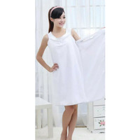 Wearable Bath Towel Dress Baju Handuk Kimono Mandi Renang Multi Fungsi