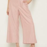 NOA Everyday Celana Kulot Wanita SUMI Corduroy Basic Pants Pink Rosy